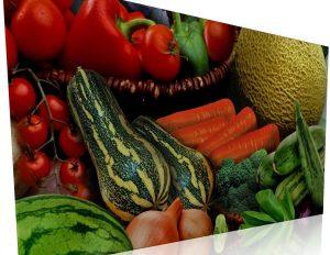 Diversos tipo de hortalizas.